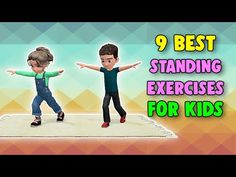 Kids Discover 9 Best Standing Exercises For Kids Physical Activities For Kids, Gross Motor Activities, Physical Education Games, Team Building Activities, Gross Motor Skills, Movement Activities, Learning Activities, Health Education, Elderly Activities