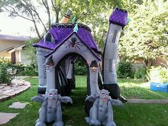 gemmy inflatable airblown haunted house