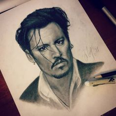 I haven't drawn anything for ages and I feel ashamed.. but this portrait of #JohnnyDepp became my first work of this year.  Well, I hope to improve some my skills. #drawing #drawer #art #fanart #depp #johnny #pencildrawing #painter #painting #artist #face #actor #man #manportrait #джоннидепп #портрет #рисунок