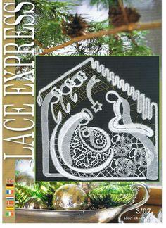 Nativity Revistas Lace Express y - maura cardenas - Picasa Web Album Irish Crochet, Crochet Lace, Crochet Stitches, Teneriffe, Knitting Books, Crochet Books, Bobbin Lace Patterns, Picasa Web Albums, Lacemaking