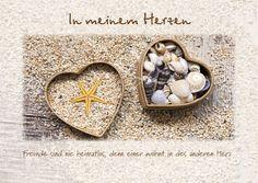 In meinem Herzen - Postkarten - Grafik Werkstatt Bielefeld