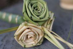 Easy coconut rose bouquet tutorial
