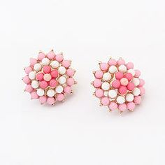 Pink to Make The Boys Wink Studs