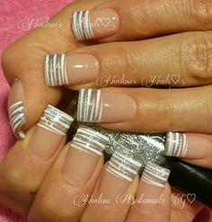 😍 Cute Nail Art, Beautiful Nail Art, Nail Polish Designs, Nail Art Designs, Chalkboard Nails, Hot Nails, Nail Tips, Nail Ideas, French Nails