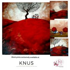 South African Decor, South African Homes, African Home Decor, South African Artists, Red Tree, House On A Hill, Bedroom Accessories, Art Portfolio, Local Artists