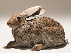 Hare Sculpture. Nick Mackman