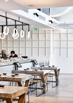 Tetsujin Japanese restaurant in Melbourne by Architects EAT in collaboration with Principle Design embraces the concept of order and chaos.