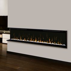 Ignite is the latest technological advancement in wall mount & built-in fireplaces by Dimplex. This unmatched flame effect is truly the head of its class and top in the industry. The Multi-Fire XD flames look just like the real thing as they flicker and dance from the contemporary acrylic ice ember bed. The option of various color themes lets you change the look of the fireplace to fit your tastes and mood. his feature rich electric fireplace offer supplemental heating for areas up to 1,0...