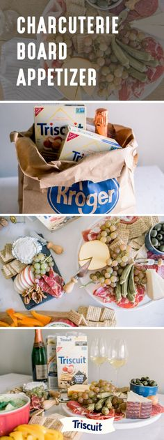 We're up for any excuse for a tasty get-together. To help you do just that, check out this Charcuterie Board Appetizer! Featuring TRISCUIT Crackers, a variety of cheeses, a selection of cured meats, and fresh fruits, this party idea is ideal for occasions big or small. Make delicious entertaining easier than ever when you grab all the ingredients you'll need at Kroger.