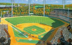 Forbes Field by Andy Jurinko