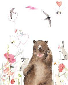 Animal illustrations - Guestpinner @happymakersblog - llustrator: Ruth Hengeveld #kidsdinge