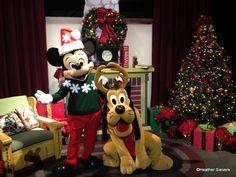 Happy Holidays from Mickey and Pluto