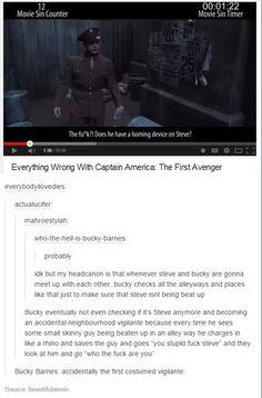 Bucky the vigilante