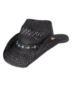Love this Black Alabama Cowboy Hat on #zulily! #zulilyfinds