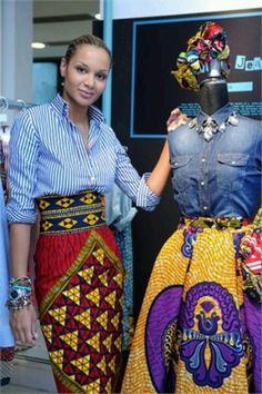 Stella Jean, Haitian-Italian fashion designer