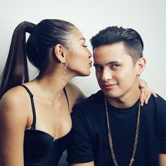 Man, I'm a lucky guy. James Reid, Nadine Lustre, James Rodriguez, Asia Girl, Partners In Crime, Mom And Dad, Beautiful Pictures, Actors, Guys