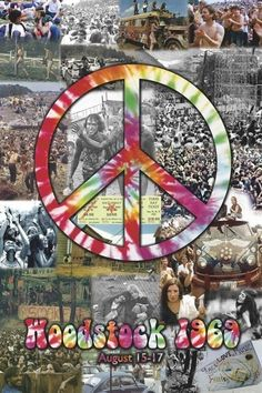 Buy Art For Less 'Woodstock 1969 Peace Collage Poster' Framed Graphic Art from Concert Tie Dye Peace Sign. This professionally framed print is great for any room in your home or office. Proudly made in the USA.
