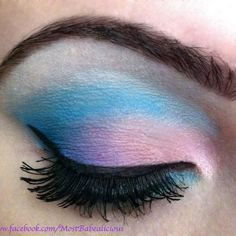 Yummy Cotton Candy Eyes by Angela J