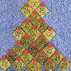 Christmas Tree Quilt | FaveCrafts.com