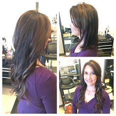 Platinum Seamless hair extensions! @Treo Salon  @Dana Scarff