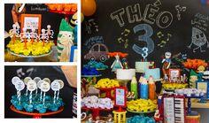 Festa Palavra Cantada: lindas inspirações para você fazer em casa | Macetes de Mãe Balloons, Birthday Cake, Bento, Desserts, Diy Home, Ideas Party, Colorful, Kids Part, Play