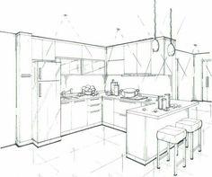 Interior drawing a interior design interior drawings pdf . interior drawing n n interior design Drawing Interior, Interior Design Sketches, Interior Rendering, Home Interior Design, Studio Interior, Interior Paint, Interior Modern, Kitchen Interior, Kitchen Design