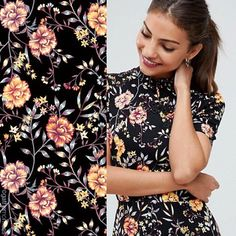 Just spotted on @asos our stunning new chinoiserie print on this cute mini dress. Perfect for the party season. #picoftheday #asosfashion #asos #asosdress #chinoiserie #surfacepattern #surfacepatterndesign #floralprint #floraldress #ootd #ootdfashion #printspiration #printlovers #printsprintsprints #surfacepattern #surfacepatterndesign #AW17 #gathernomoss #gathernomossstudio
