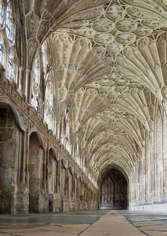 Gloucester Cathedral / Credit: Jennifer A. Darrell