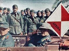 Afrika Korps arrives in Libya 1941