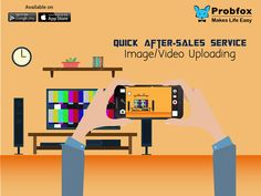 Is your customer's television screen showing 'No Signal' & they are missing out their favourite show? Let them upload an image/video of their problem & provide them with solution instantly #Manufacturer #Aftersales #IT #Techsavvy #App Probfox, World's first customizable visual app that facilitates direct customer-to-company communication via video & photo uploading. Enhance your After-Sales Service, request a demo today @ +91 9820647230. Available on Google Play and App Store…