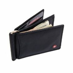 Black Friday Mens Leather Wallet Money Clip Spring Front Pocket Wallet 11 Cards Thim Slim Billfold from Alpine Swiss Cyber Monday Rfid Wallet, Purse Wallet, Leather Men, Leather Wallet, Lambskin Leather, Best Slim Wallet, Branded Wallets, Men's Wallets, Front Pocket Wallet