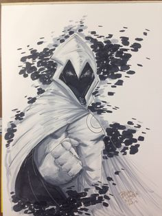 NYCC Moonknight commission by BrianVander on @DeviantArt