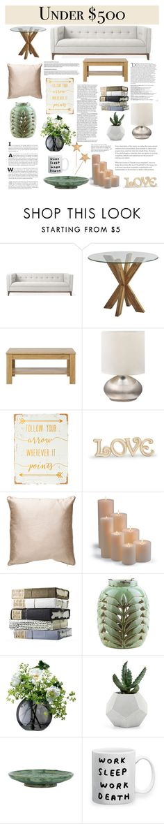 """""""Senza titolo #5562"""" by waikiki24 ❤ liked on Polyvore featuring interior, interiors, interior design, home, home decor, interior decorating, Gus* Modern, Pier 1 Imports, Balmain and WALL"""