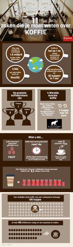 infographic 11 zaken die je moet weten over koffie