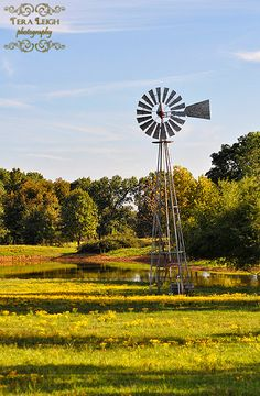 Items similar to Country Windmill - Framed Print on Etsy Blowin' In The Wind, Wind Of Change, Country Farm, Country Life, Farm Windmill, Old Windmills, Wind Mills, Old Barns, Farm Life