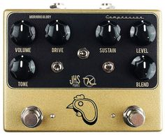 Steak N Eggs Pedal - it's a 2 in 1 Overdrive and Compressor