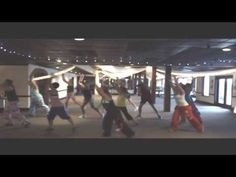 ZUMBA FITNESS® with Janette-The Reckoning (Warm-Up 2013) - YouTube  I like this song and need some inspiration to pull it together. I think the jumps are too much for a warm up, but there are some good ideas here.