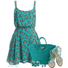 50 Shades of Blue, created by missie-may on Polyvore