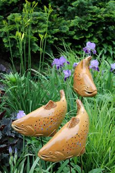 Paul Ameyu0027s Fish On Gaze Burvill Stand | Pinterest | Fish, Gardens And  Garden Art