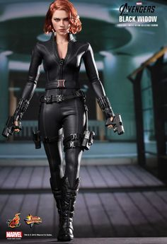 Black Widow from Avengers/Hot Toys