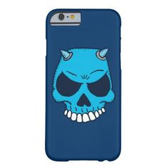 Blue Demon Skull Iphone 6 Case