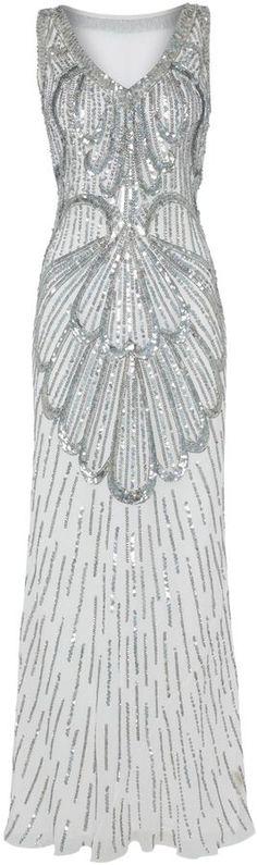JS Collections Fan #sequin #dress
