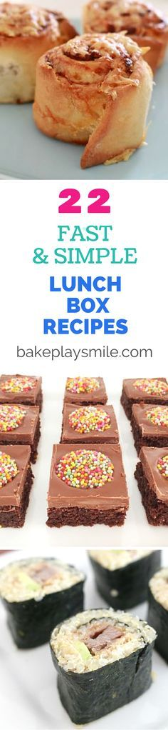 22 fast simple lunch box recipes Theres something sweet something savoury something healthy and something a little bit naughty. Lunch Box Bento, Lunch Snacks, Savory Snacks, Lunch Boxes, Kid Snacks, Lunch Box Recipes, Snack Recipes, Lunch Ideas, Yummy Recipes