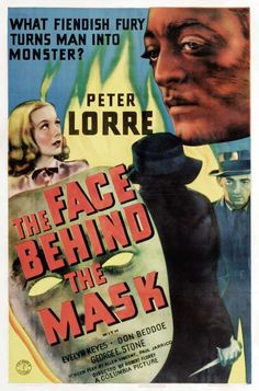 peter lorre movie + mask - Bing Images