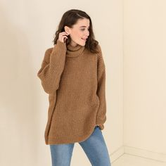 LONG SWEATER HIGH NECK #mys19