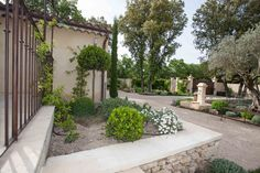 Jardin réalisé par Beck Frères