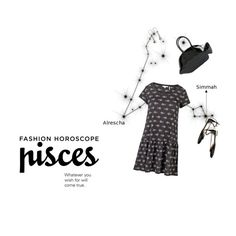"""""""Fashion Horoscope: Pisces"""" by sharmarie ❤ liked on Polyvore featuring Fat Face, Aquazzura, Thom Browne and NOVICA"""