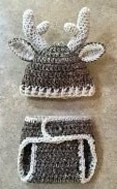 a22a0ff5f5c4b This is for the pattern only not a finished product. The Baby Deer Outfit  pattern includes an Antler Hat and Tail Diaper Cover.