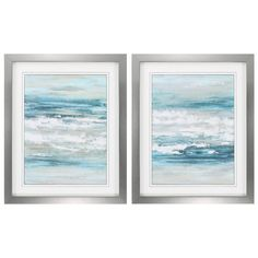 Propac Images At The Shore 2 Piece Framed Painting Print Set & Reviews | Wayfair