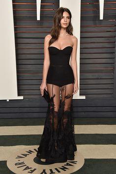 Emily Ratajkowski - The Most Amazing 2016 Oscar Afterparty Looks - StyleBistro